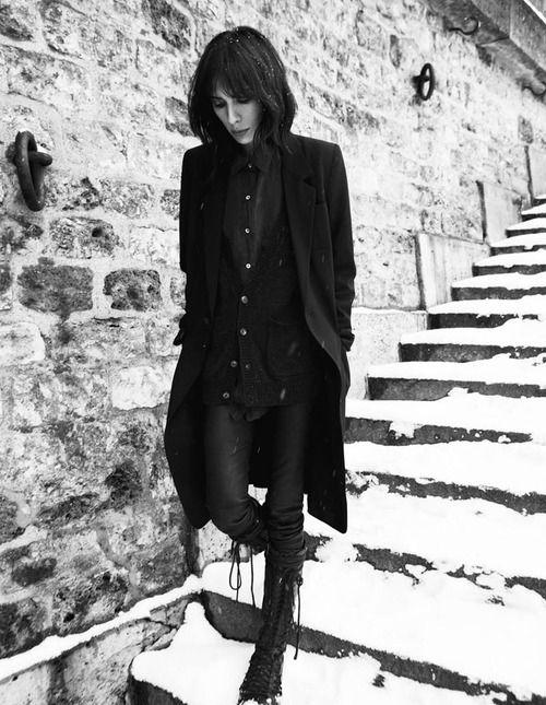 Ann Demeulemeester Retrospective - Jamie B in Vice Mag - StyleZeitgeist