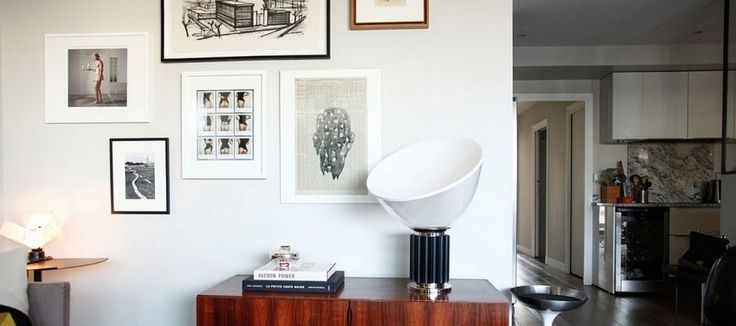 Sfeerfoto interieur Taccia lamp, design klassieker Flos