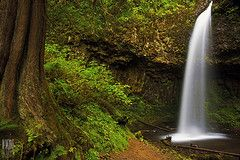 Image: 'Upper+Latourell+Falls' found on flickrcc.net