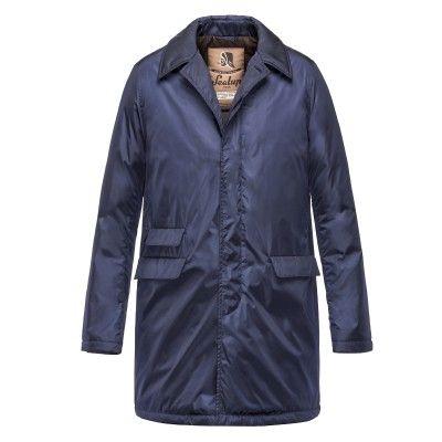Ticket Pocket Piuma - Raincoat for men #sealupcollection. Shop it!