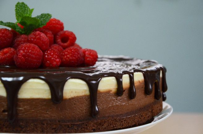 Death by Chocolate Mousse Cake
