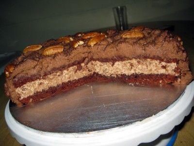 Торт с грецским орехом