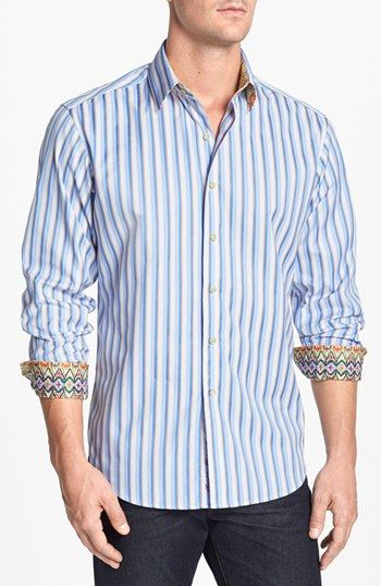 103 best men 39 s clothes images on pinterest men fashion for Robert graham tall shirts