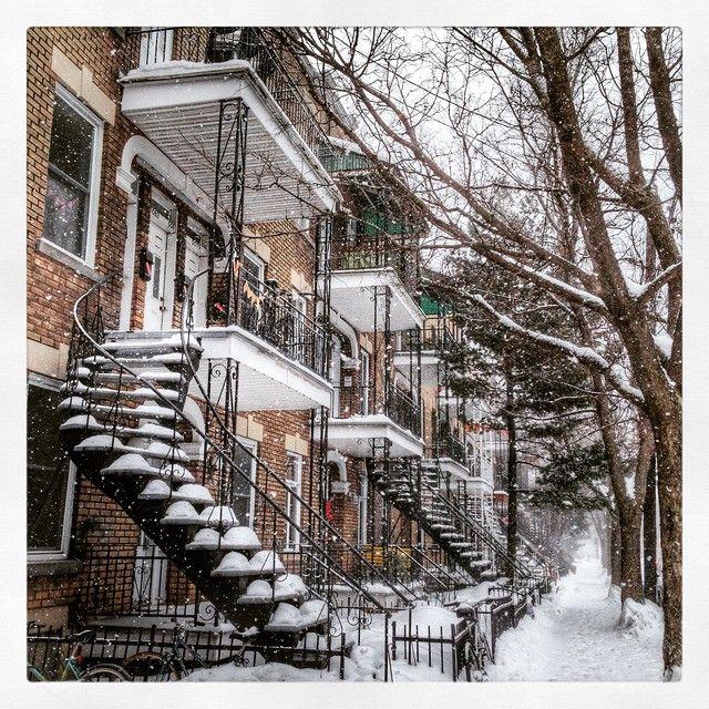 Il fait très froid présentement à Montréal #Montreal