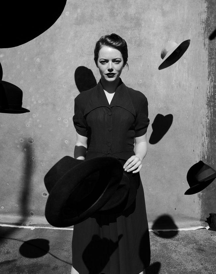 Emma Stone / Great Performers: The Portraits - The New York Times. Jack Davison