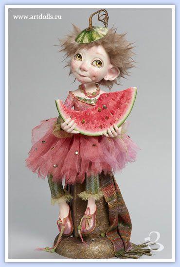 Дроздова Маргарита. Авторская кукла 4