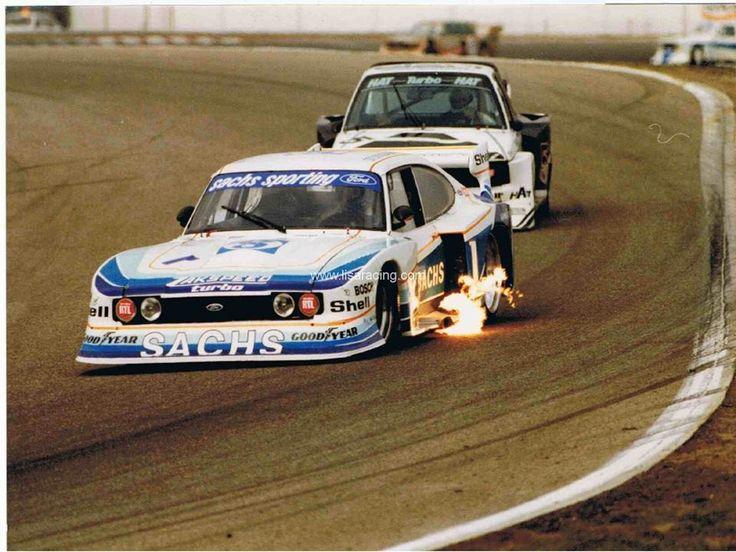 1979 setzte Zakspeed einen zweiten Turbo-Capri ein, gefahren vom amtierenden Deutschen Rennsportmeister Harald Ertl.