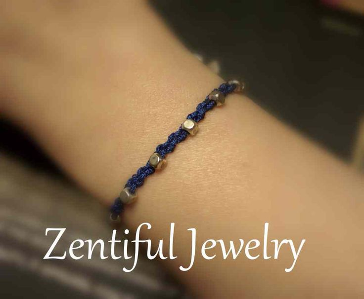 Bracelet For Small Wrists Blue Macrame Boho Chic Button Closure. Made for 5-5.5 inch wrist.  1 available.  $15.00 USD. Bracelets for small thin dainty petite wrists / Bracelet for women / Boho Bracelet / Beaded Bracelets / Bohemian Bracelets / Hippie Bracelet / Minimalist Bracelet / Cottage Chic Bracelet / Dainty Bracelet / Simple Bracelet / Unique Bracelet / Special Bracelet / Zentiful Jewelry / Bracelets / Chic Bracelet / Beach Bracelet / Women Bracelet