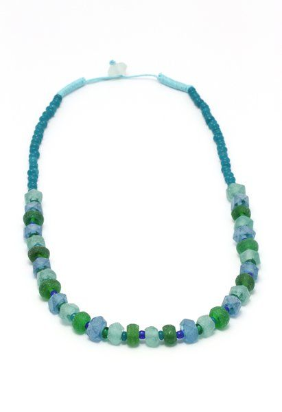 Dalia Blue- Green Crystal Before A$27.95 NOW on SALE A$19.95