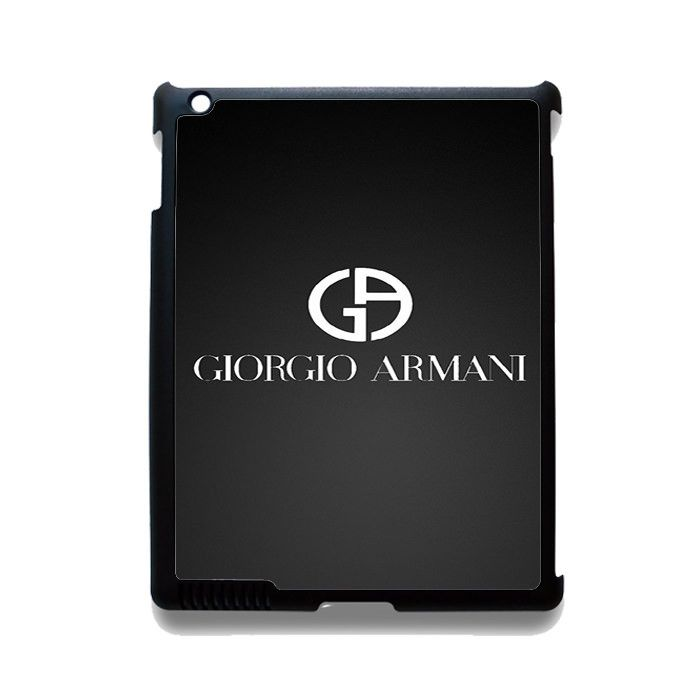Giorgio Armani Black Logo TATUM-4656 Apple Phonecase Cover For Ipad 2/3/4, Ipad Mini 2/3/4, Ipad Air, Ipad Air 2
