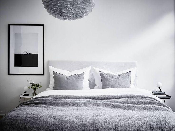 Deco gemengde kamer: decoratie kamer. door een behang met print geef