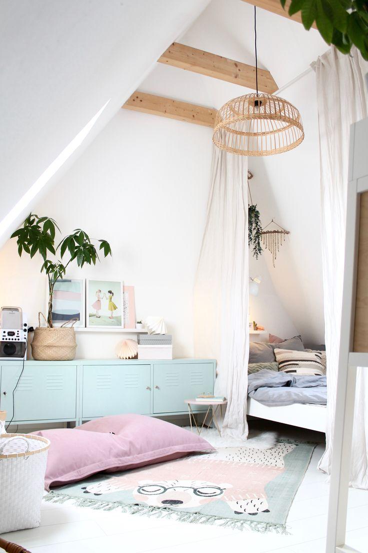 Dachboden Mädchenzimmer   Zimmer, Zimmer mädchen, Zimmer ...