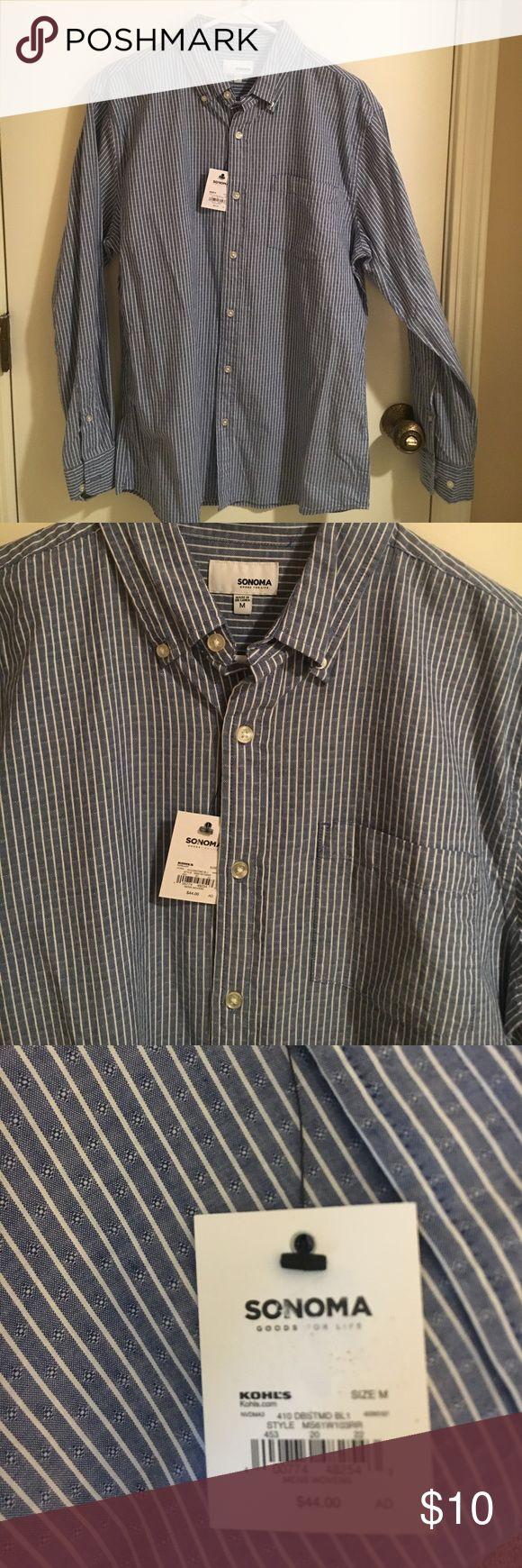 NWT!! Dressy or casual button down! NWT dressy or casual button down! Great with khakis or jeans Sonoma Shirts Casual Button Down Shirts