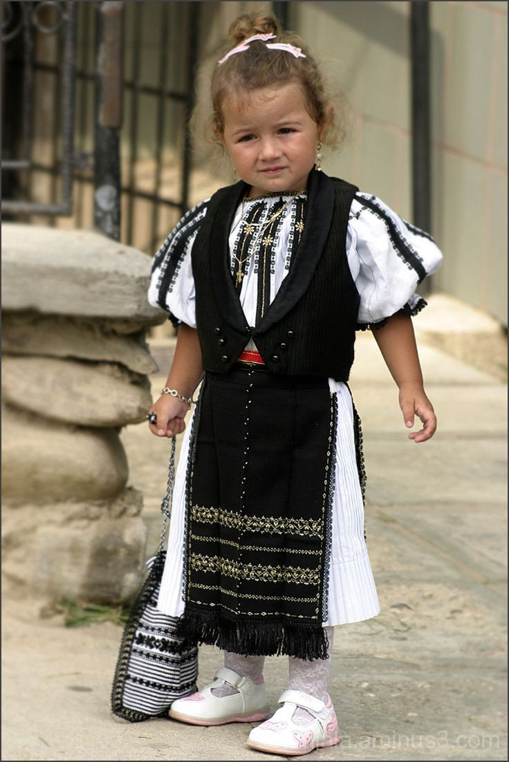 Little Romanian girl.