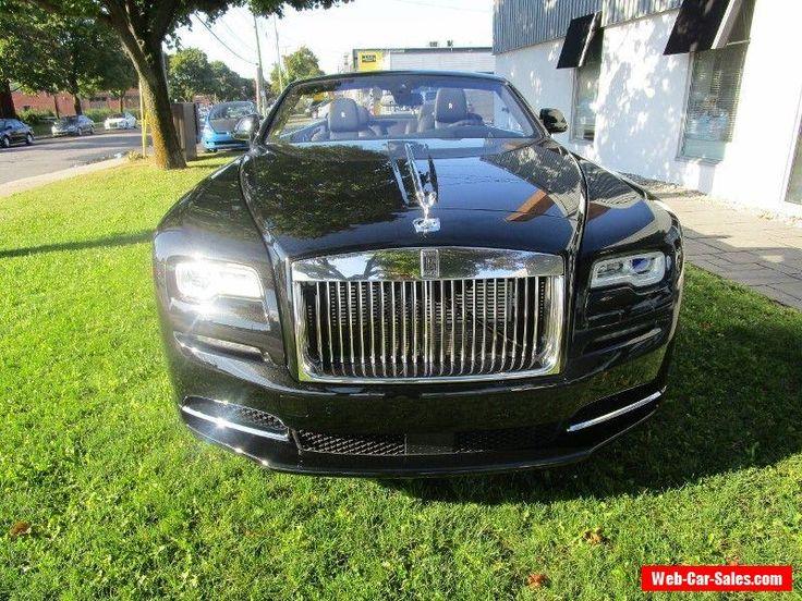 2017 Rolls-Royce Other DAWN #rollsroyce #other #forsale #canada