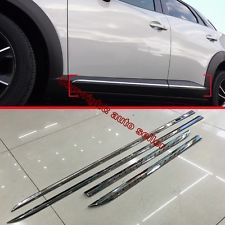 ABS Chrome Side Door Body Moulding Trim For Mazda CX-3 2015 2016 2017