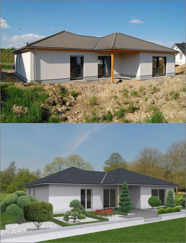 Von der 3D-Planung zum (fast) fertigen Traumhaus.