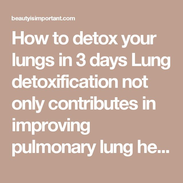 how to fix your lungs after smoking
