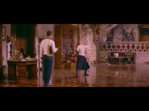 Fencing lesson. The Swan 1956, Grace Kelly - YouTube
