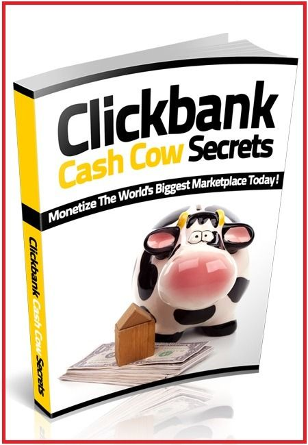 Click bank Cash Cow Secrets - $1.99 #onselz #cash #money #oman #USA #facebook #mlm #twitter #profit #oman #USA #bitcoins #virtacoins #myselzstore #bookcover #programming  #tech #bestbuy #buy