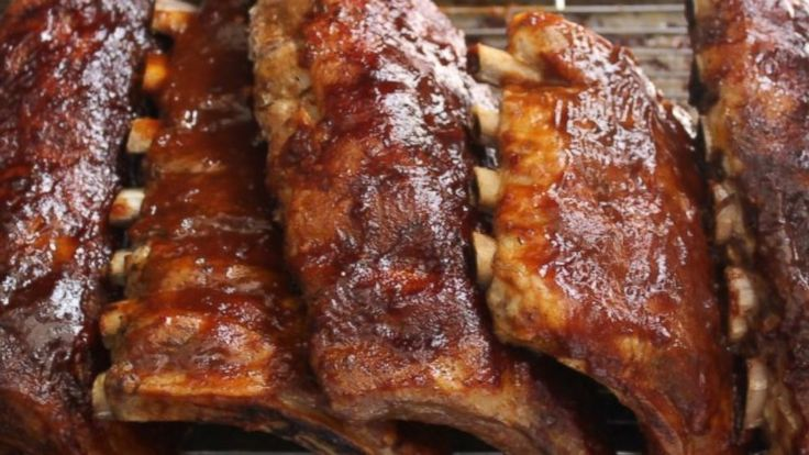 Emeril Lagasse's Baby Back Ribs with Community Coffee BBQ Sauce -- Slathered in Coffee and Jalapenos for a Super Kick