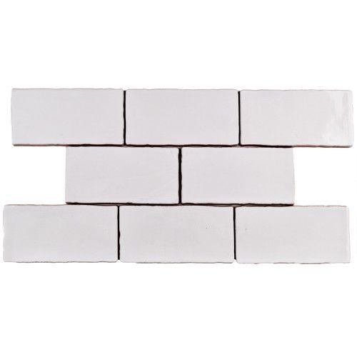 """EliteTile Antiqua 3"""" x 6"""" Ceramic Tile in Special Milk"""
