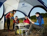 3M x 3M x 2M Outdoor Backpacking Sun Shade Beach EZ Quick Instant Canopies for Picnics Travel BBQ Camper Hiking