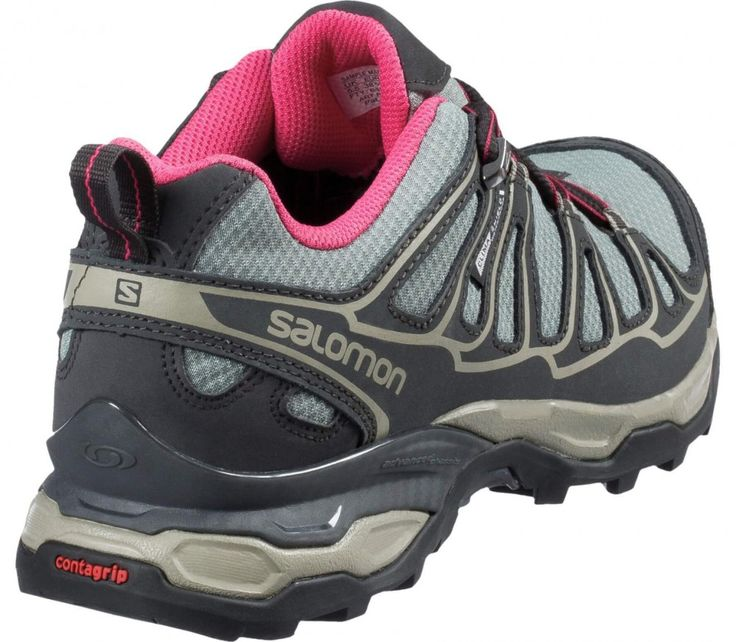 Salomon - X Ultra Prime CS WP Damen Hikingschuh (grau/rosa)
