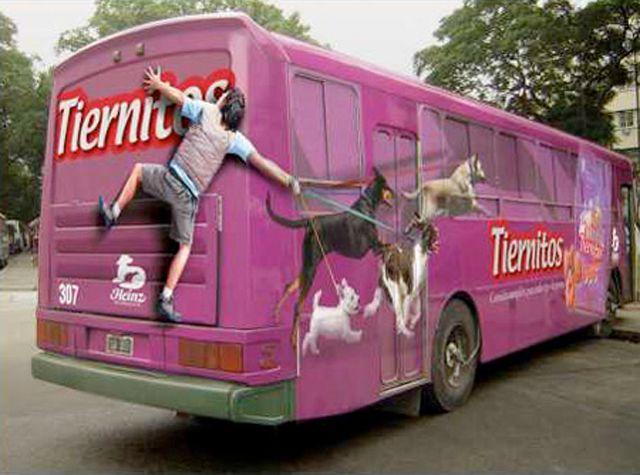Creative Bus Advertisements | Creative Criminals