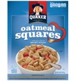 Quaker Oatmeal Squares are delicious and high in potassium. Always have a box on hand. #YAYOATS