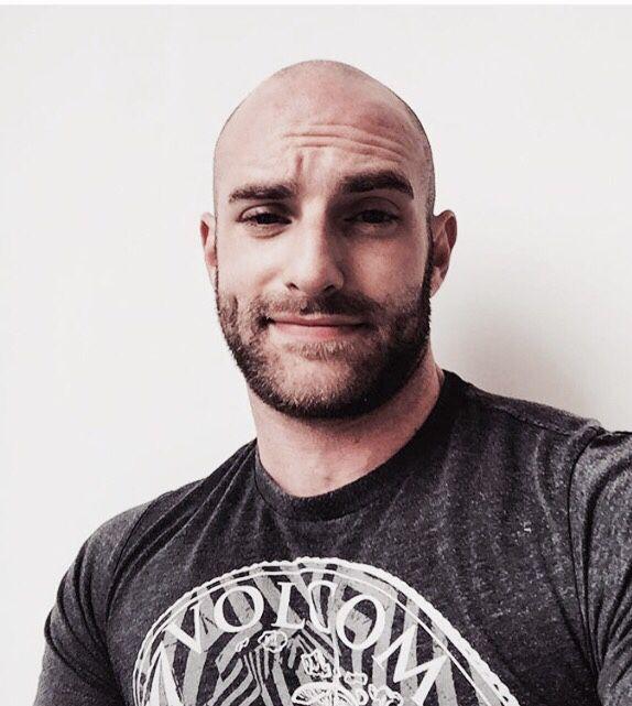 Bald handsome guys