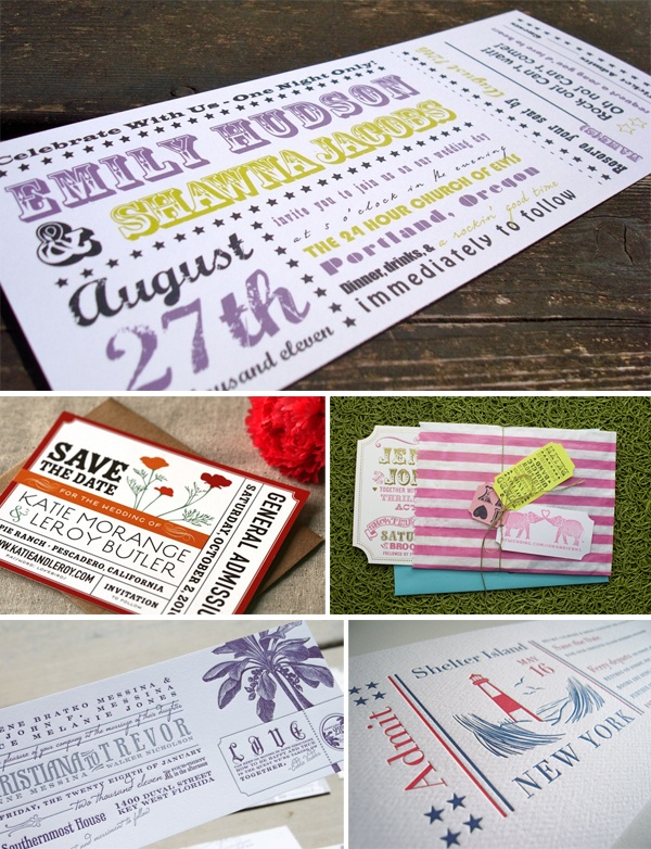 27 best B\C images on Pinterest Invitations, Card ideas and Clothes - invitations that look like concert tickets