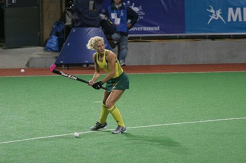 Australian Womens Hockey Player