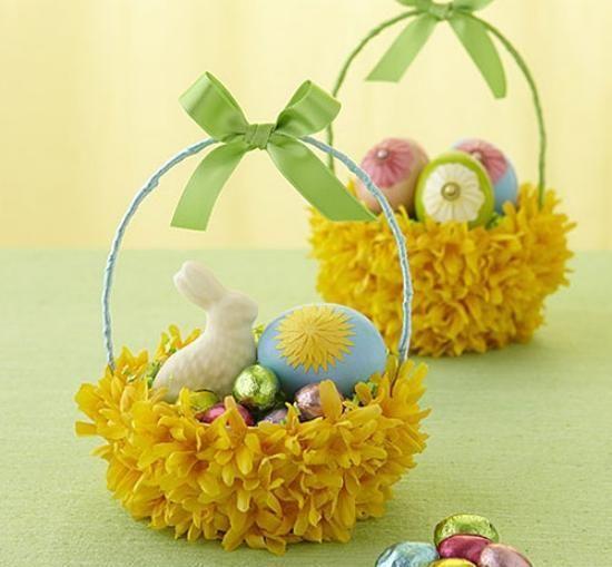 Корзинки для пасхальных яиц своими руками! (идеи и мастер-классы) » Женский Мир