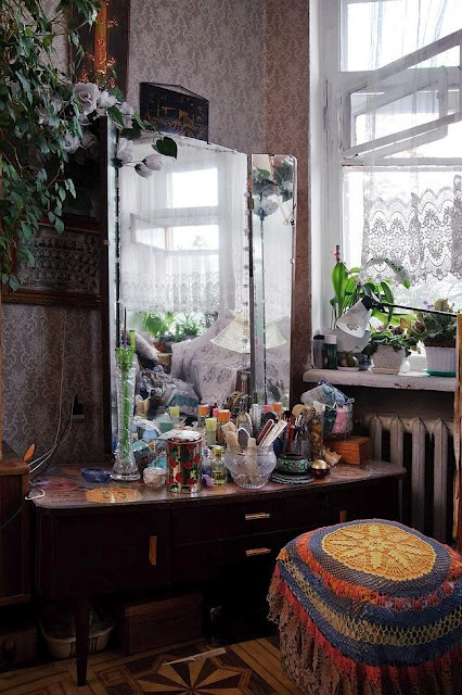 Furnished Apartment In The USSR | трельяж