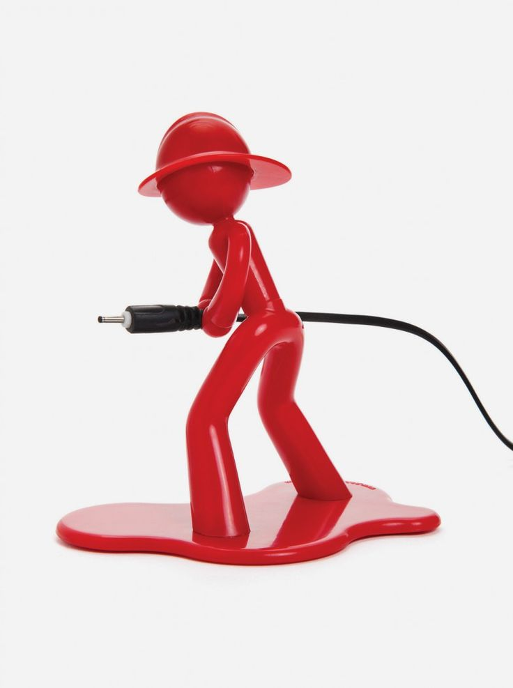 Taking the form of a firefighter, Charlie is your guy to transfer power into your device anytime. Make sure he is around all the time needed to hold your device's cable and secure it.