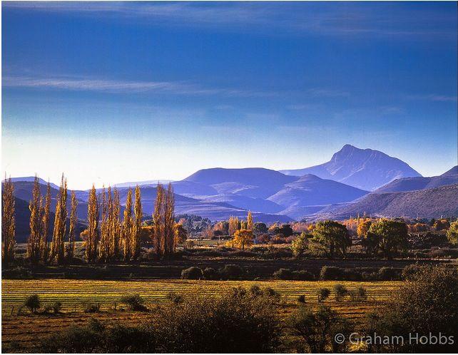 Klein Karoo. South Africa
