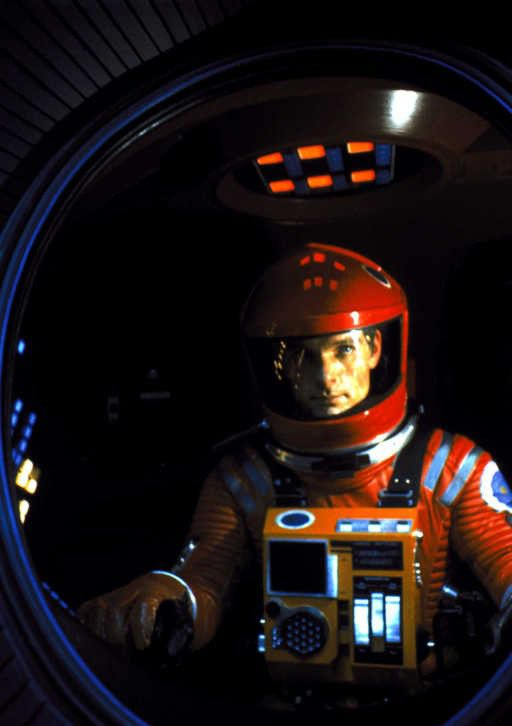 Here you are, sir, main level please. (2001, A Space Odyssey)