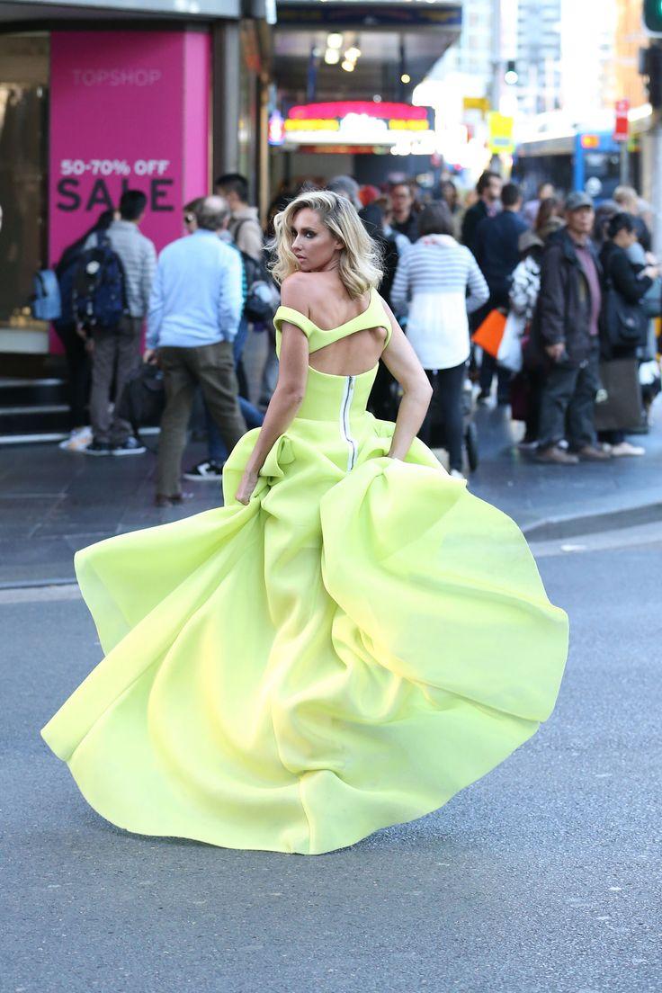 Maticevski yellow dress.