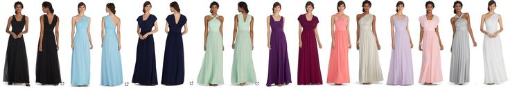 Genius Convertible Gown   White House Black Market   4 ways to wear 1 dress   LOTS of colors now   http://www.whitehouseblackmarket.com/store/browse/?Dy=1&Nty=1&Ntt=genius+gown&ensearch=