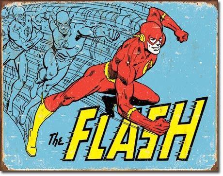 Flash - Vintage Tin Sign