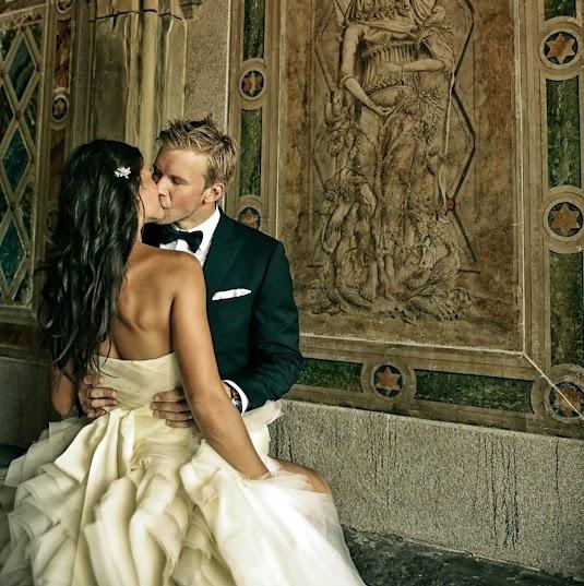 Maraige de Mike Komisarek et sa blonde Ania. Maple Leafs de Toronto. NHL. @Jessica T he got married :(