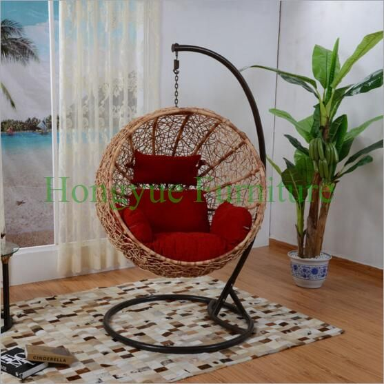 Find More Hanging Baskets Information about Patio rattan hammock with stand and cushions,High Quality hammock wooden,China hammock cover Suppliers, Cheap rattan purse from Hongyue Cane Skill Furniture on Aliexpress.com