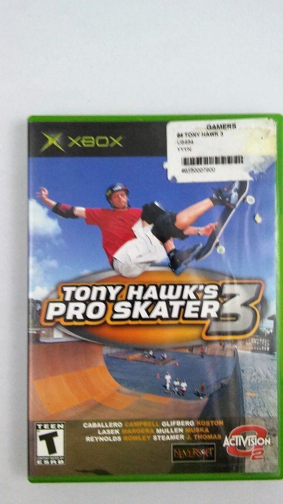 Tony Hawk's Pro Skater 3 XBOX COMPLETE