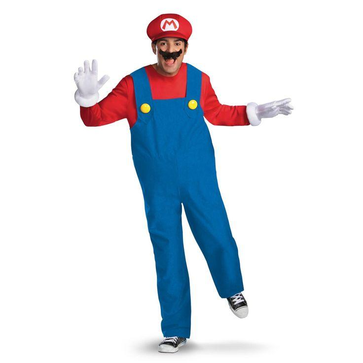Super Mario Brothers - Mario Adult Costume   BuyCostumes.com