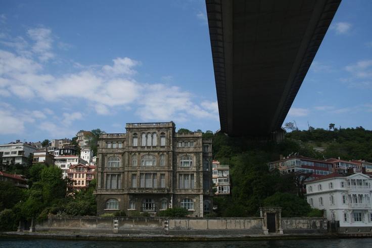 Under the 2nd Bridge on Bosphorus