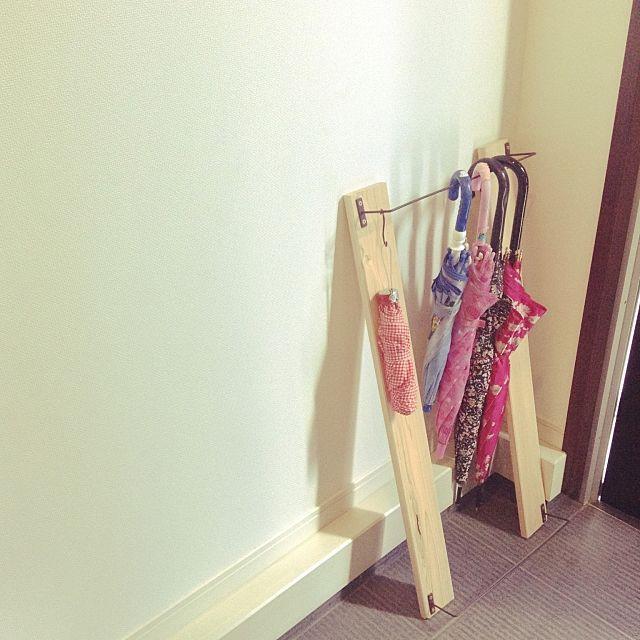 「傘かけ 玄関」に関する部屋のインテリア実例の検索結果 | RoomClip(ルームクリップ)|RoomClip (ルームクリップ)