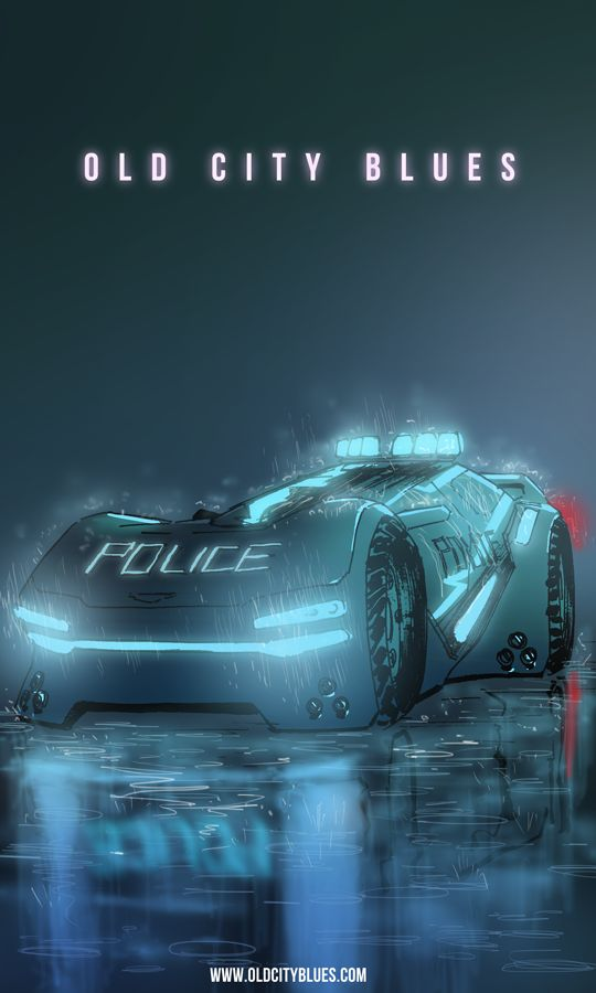 cyberpunk, futuristic, future police, neon, old city blues. search cars,race cars,new cars,girls and hot rod cars wallpaper,classic cars