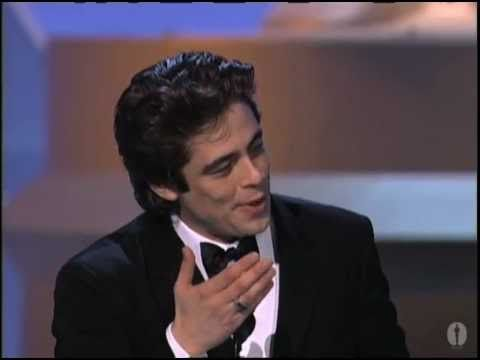Benicio Del Toro winning Best Supporting Actor