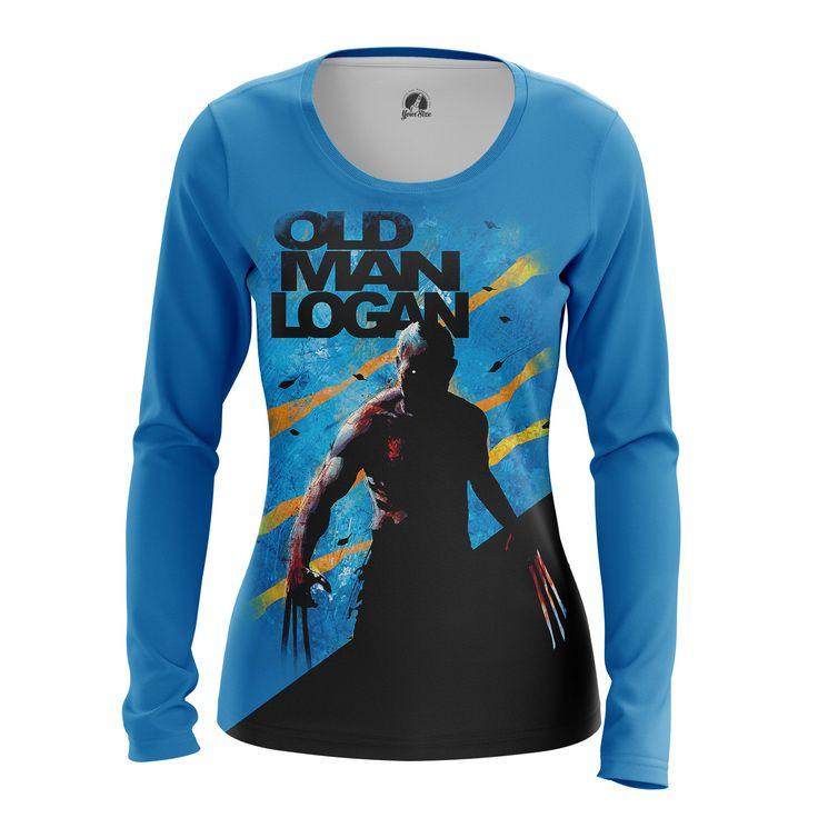 cool Girls Longsleeve Old Man Logan Xmen Merch Gifts Collectibles